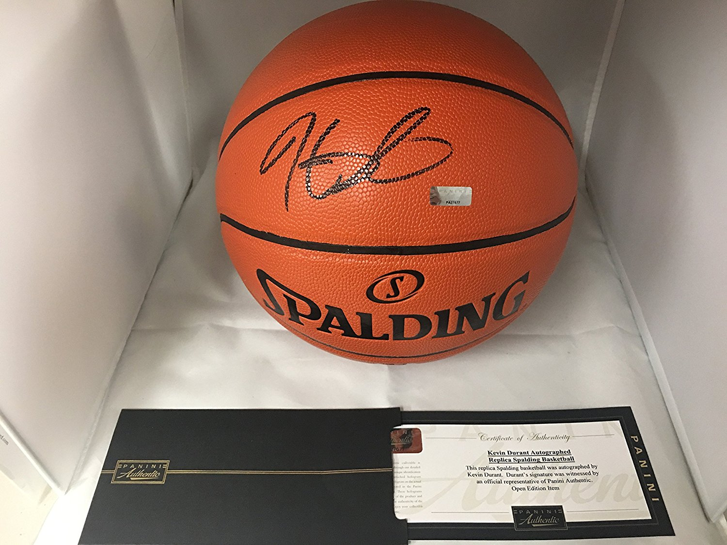 sale retailer 9319e d7b4d Kevin Durant Autographed Signed Golden State Warriors Game ...